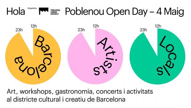 Poblenou Open Day – Sábado 4 de Mayo