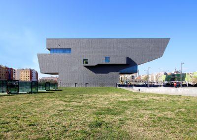 museu-hub-alzado-lateral-barcelona