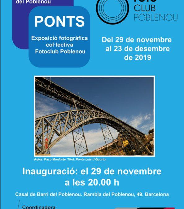 Exposición fotográfica «Puentes»